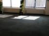 unive vloer schoon boven groot kantoor